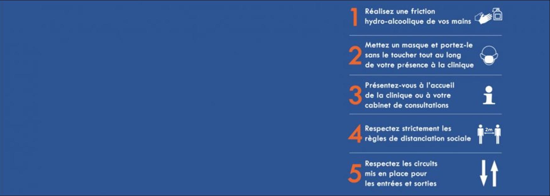SE PROTÉGER ET PROTÉGER LES AUTRES.  La Clinique Synergia Luberon vous accueille en toute sécurité.  Les visites restent interdites jusqu'à nouvel ordre (sauf cas d'exception: personnes handicapées, mineurs, patients ne parlant pas le français, fin de vie ou situation humaine de détresse, séjours longs).
